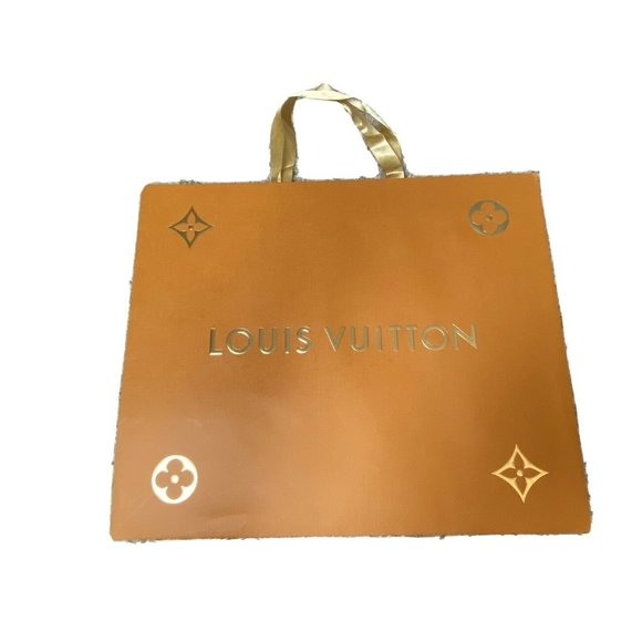 Louis Vuitton Holiday Shopping Bag 2018 Orange